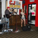 Nashville Newcomer Stephanie Grace performs at CJ Country Unplugged at City Slickers in Batavia.