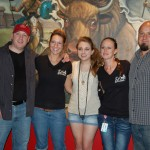 Nashville Newcomer Stephanie Grace hangs out with the Kenny and the gang at City Slickers after her CJ Country Unplugged performance!
