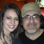 RJ with his favorite country newcomer, Rachel Farley, Nashville 2012