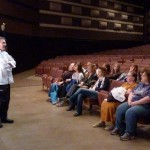 Chef Michael gives a pre-show tour to our VIP ticket holders!