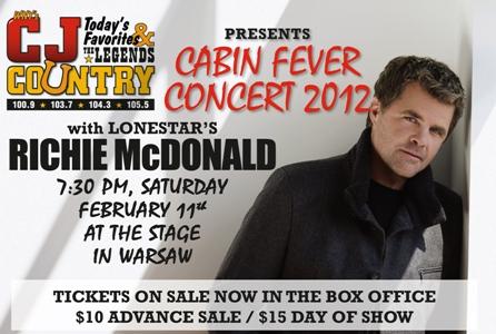 Cabin Fever Concert 2012 Photos