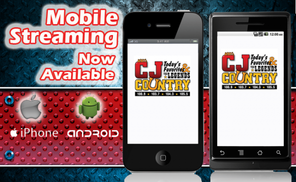 STREAMING ON YOUR SMARTPHONE!