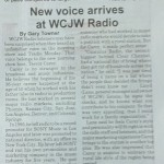 The new kid gets some press... Thanks to the Warsaw Country Courier for the great article on Trevor!