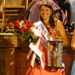2012 Wyoming County Fair Queen Kelly Degroff