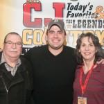 Lee & Paula with Josh Gracin