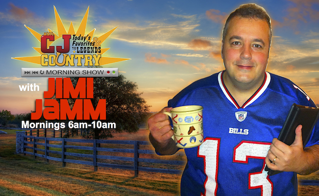 THE CJ MORNING SHOW WITH JIMI JAMM!