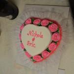 Nichole & Eric's cake