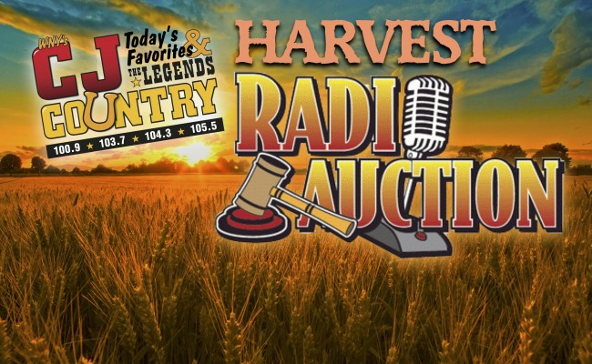 HARVEST RADIO AUCTION IS SATURDAY
