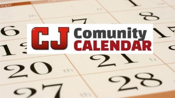 CJ COMMUNITY CALENDAR