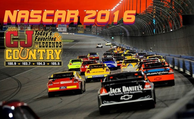 NASCAR 2016 is on CJ Country