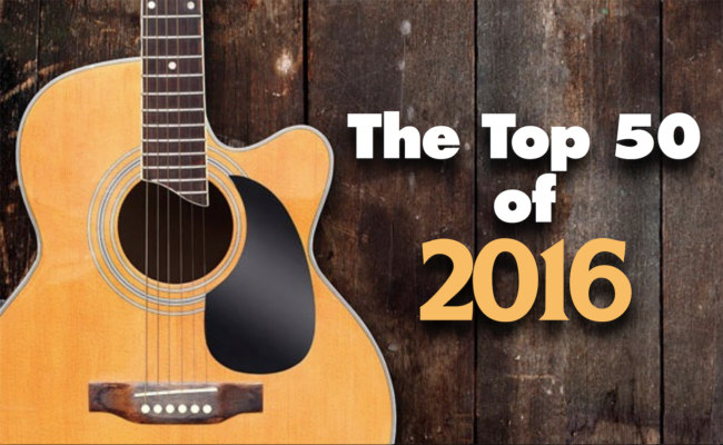 CJ COUNTRY'S TOP 50 OF 2016