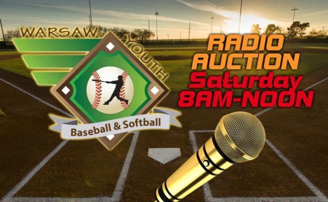 Warsaw Youth Baseball/Softball Auction Is Saturday