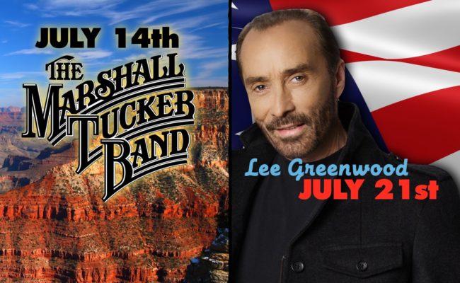 CJ Welcomes Marshall Tucker Band/Lee Greenwood