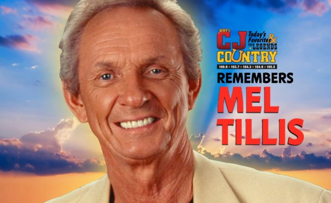 COUNTRY LEGEND MEL TILLIS PASSES AT 85