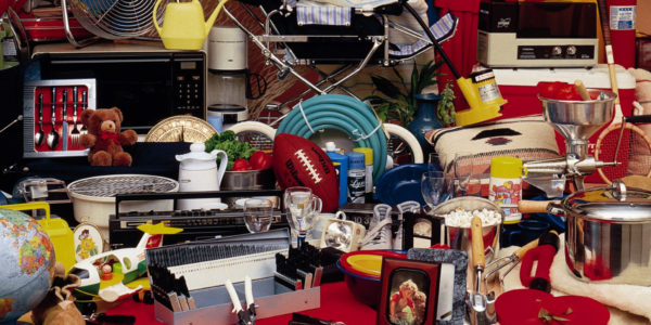 ANNUAL CHARITY INDOOR YARD SALE IS FRI. & SAT.