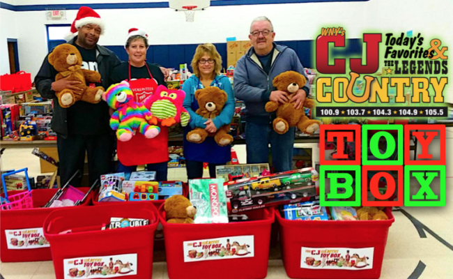 Be Santa! Donate to the Toy Box