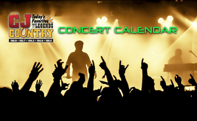 SEE THE EARLY 2019 CONCERT LISTINGS