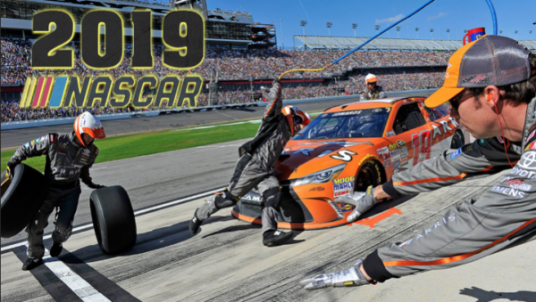 NASCAR 2019 is on CJ COUNTRY