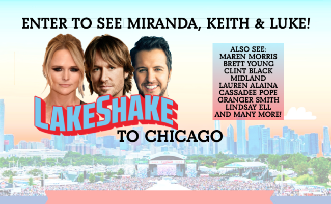 LAKESHAKE TO CHICAGO LOCATIONS ANNOUNCED!