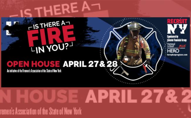 RecruitNY seeks volunteer firefighters