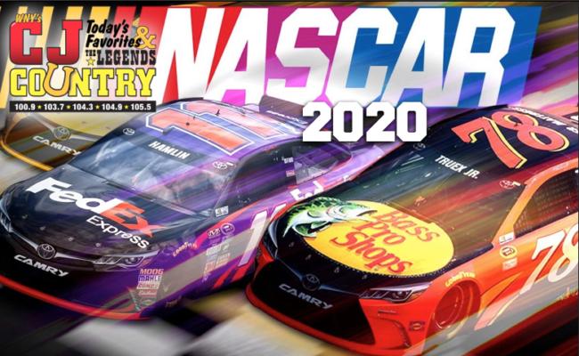 NASCAR '20 IS HEARD HERE!