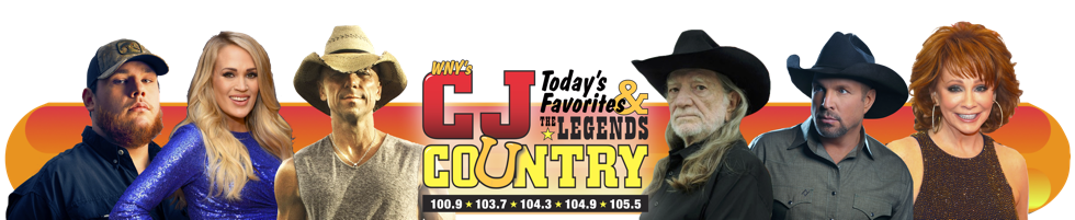 WCJW – CJ Country 100.9 103.7 104.3 104.9 105.5 1140am